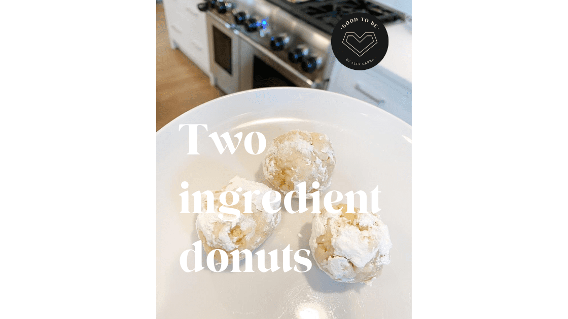 Two Ingredient Donut Holes